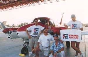 """Los Gringos con Corazon"" on a mission with ""Brothers to the Rescue."" From left to right, Thomas Van Hare, Conrad Webber, Steve Walton, Matt Lawrence."